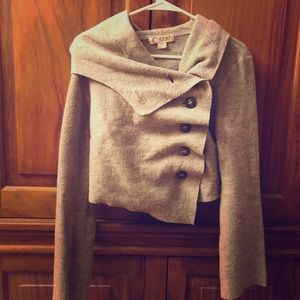 Anthropologie Casch Gro Abrahamsson Gray Sweater